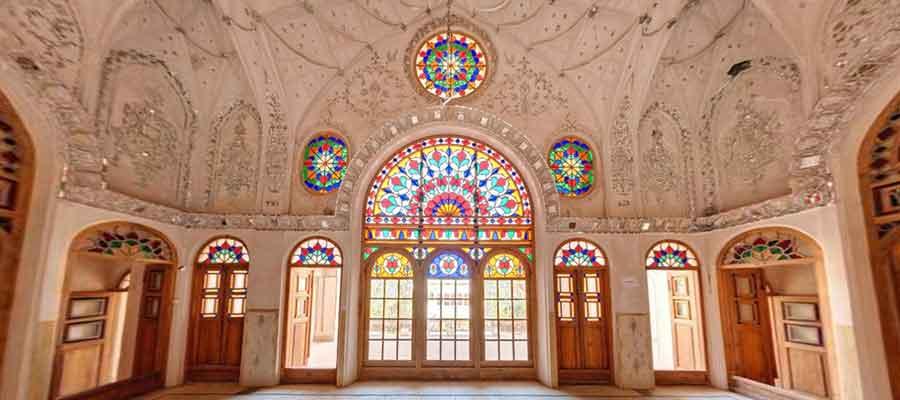 تاریخچه خانه عامری کاشان