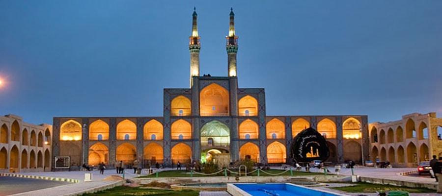 جاذبه های تاریخی شهر یزد؛ میدان امیر چخماق