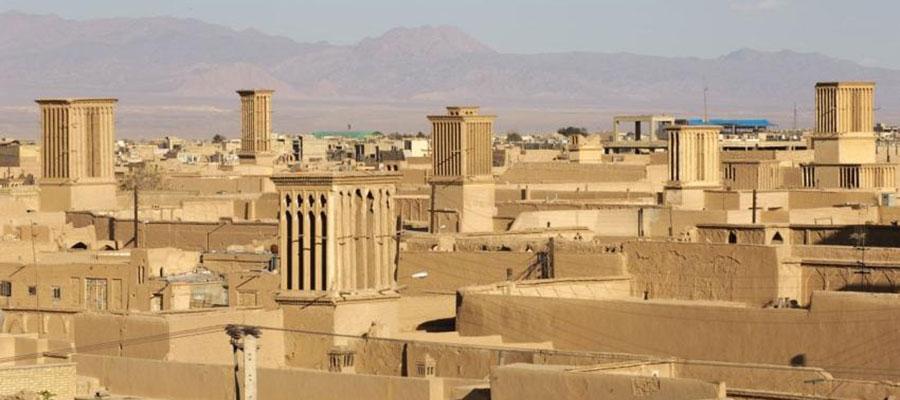 مکان های تاریخی یزد.بافت تاریخی شهر یزد