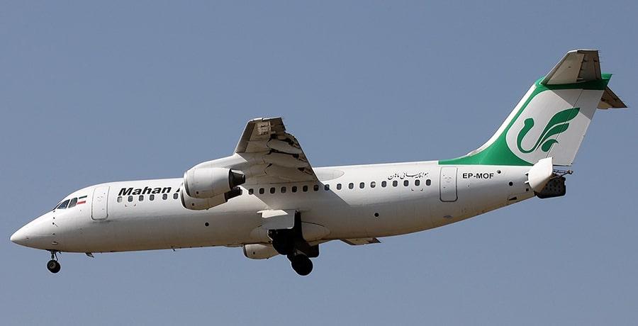 هواپیمای BEA در ناوگان هوایی ایران