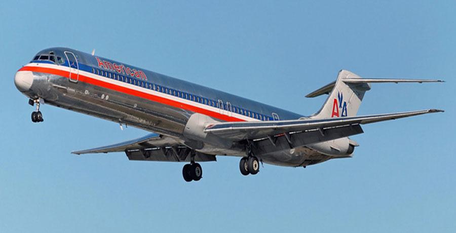 مشخصات ظاهری هواپیمای MD 80