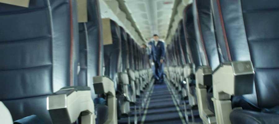 کابین هواپیمایی ساها