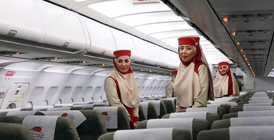 مهمانداران هواپیمایی قشم ایر