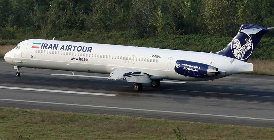 خرید بلیط هواپیمایی ایران ایر تور
