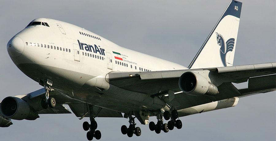 بلیط هواپیمایی ایران ایر