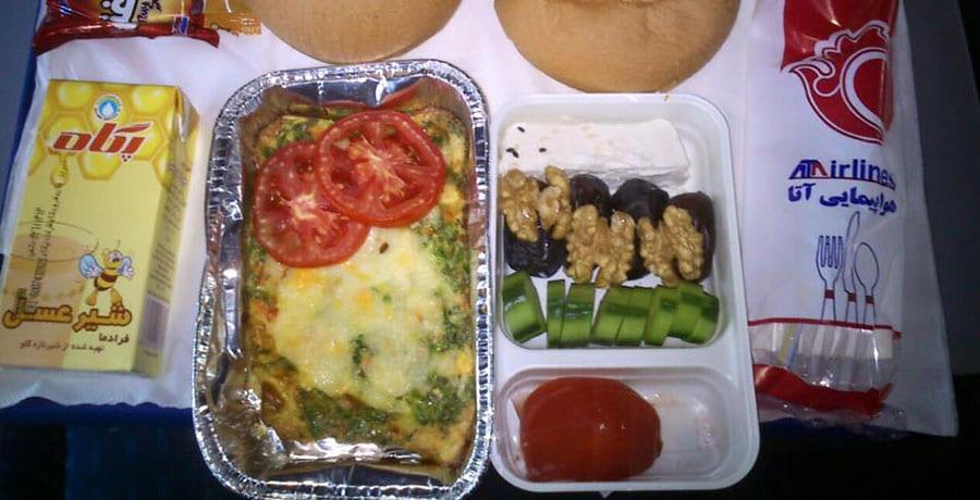 خدمات غذای ایرلاین آتا
