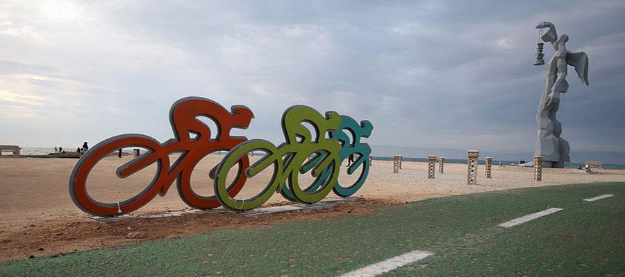 مسیرهای دوچرخهسواری در جزیره کیش
