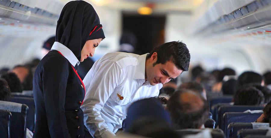 مهمانداران شرکت هواپیمایی آتا