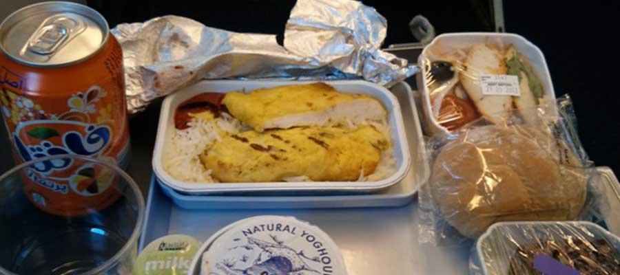 غذای هواپیمایی ایران ایر