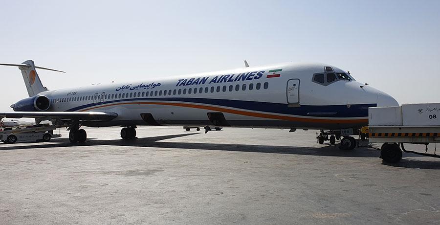 دانل، هواپیما md80