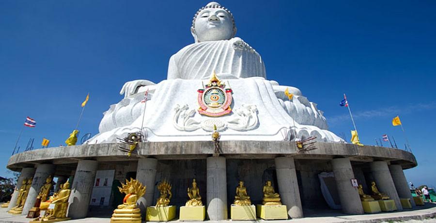 اصلی ترین و بزرگترین مجسمه بودا در پوکت