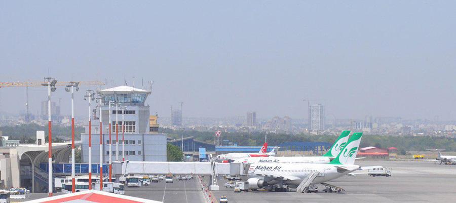 شرکت های هواپیمایی فرودگاه هاشمی نژاد مشهد
