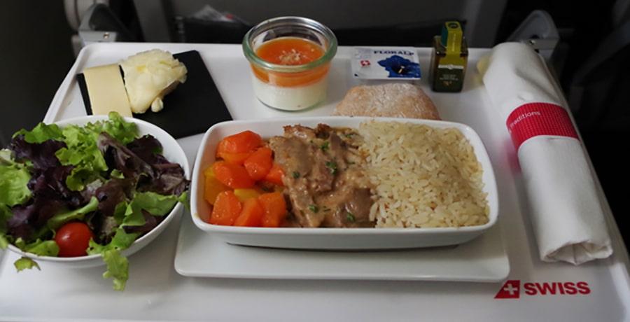 خدمات ویژه غذایی هواپیمایی