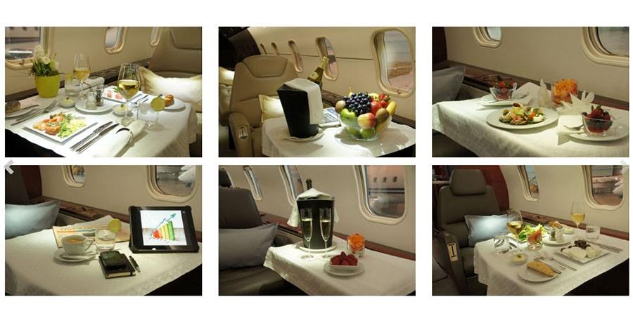 خدمات VIP و CIP در هواپیماها