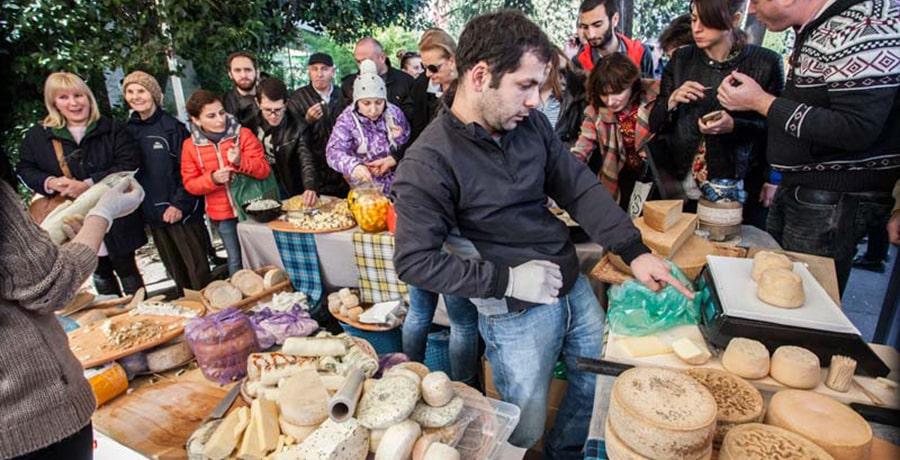 فستیوال پنیر تفلیس