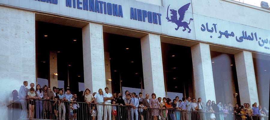 تاریخچه فرودگاه بین المللی مهرآباد