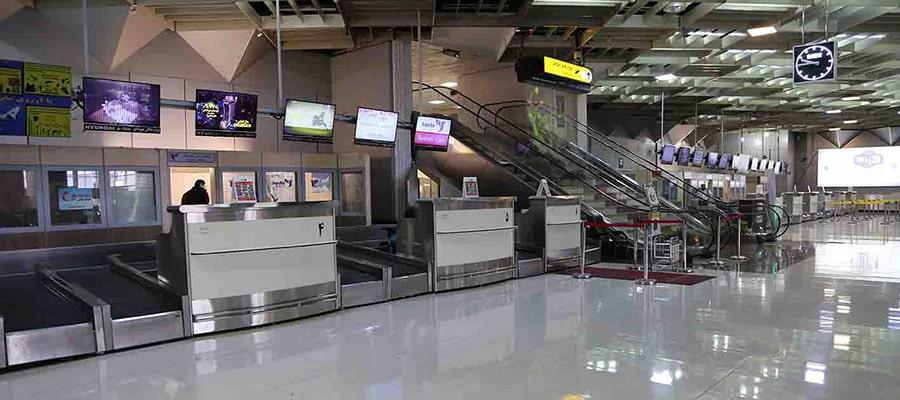 امکانات فرودگاه مهرآباد
