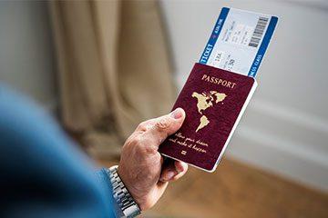 مدارک لازم برای ویزا و پاسپورت