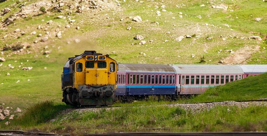 سفر با قطار به لرستان