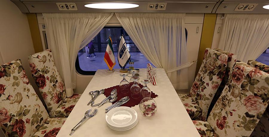 امکانات موجود در بهترین قطار های ایران