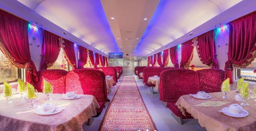 قطار نورالرضا اصفهان مشهد