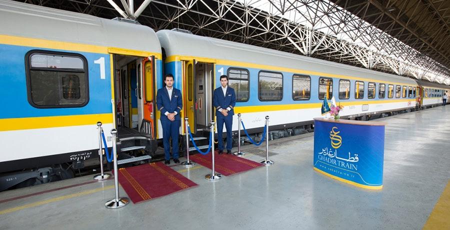 با قطار به کدام شهرها می توان سفر کرد