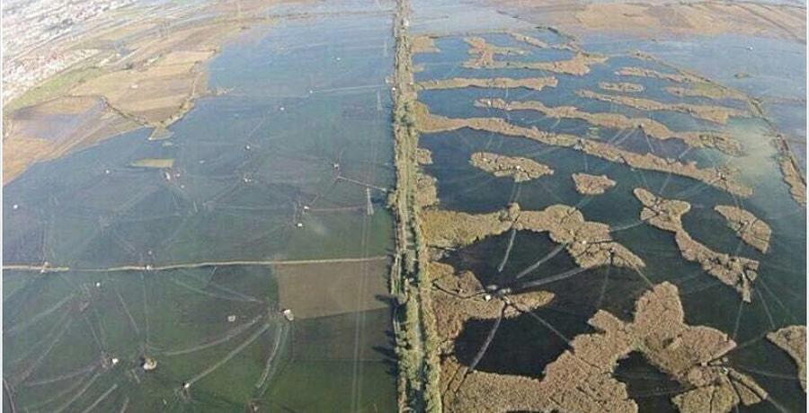 زیباترین بندرهای شمال کشور و تصویری از بندر ترکمن