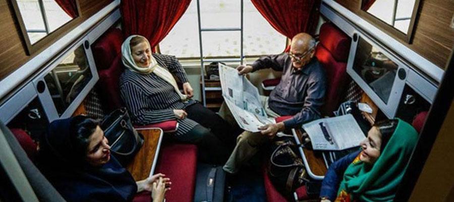 بلیط قطار فدک تهران مشهد