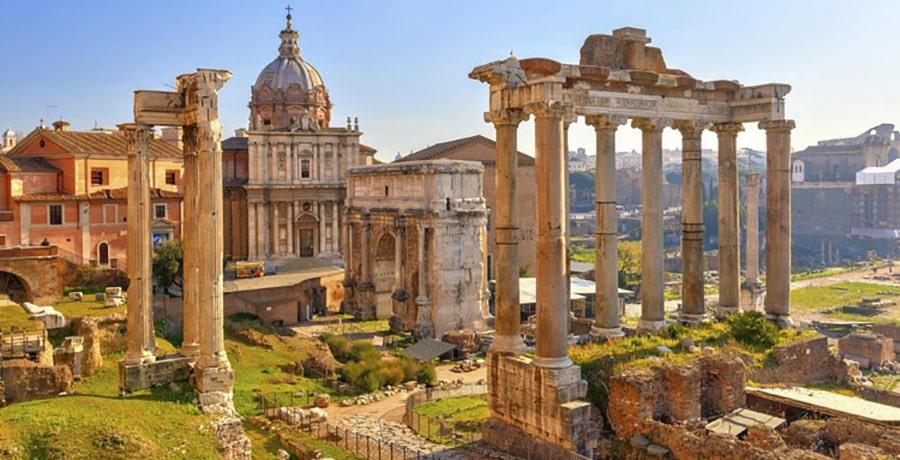 جاذبه های گردشگری رم، ایتالیا