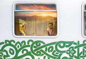 قطار فدک، امکانات قطار 5 ستاره ایرانی + ویدئو و عکس