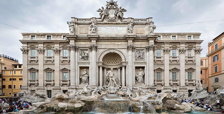 اثار باستانی بجای مانده در رم
