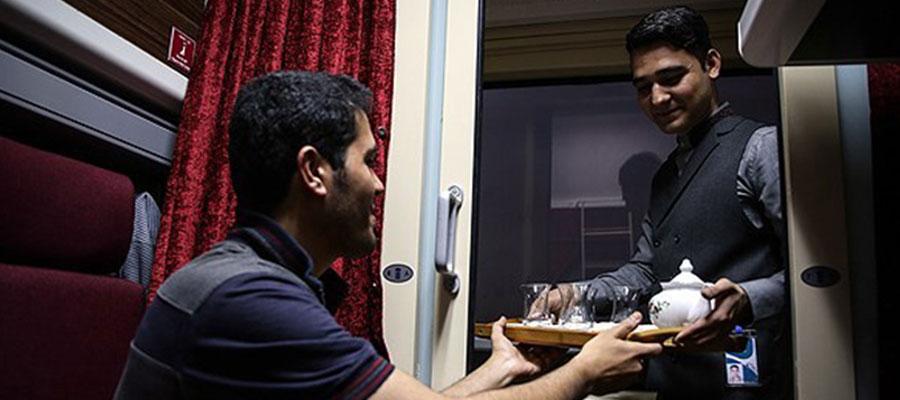 خرید بلیط قطار زندگی تهران مشهد