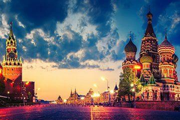 راهنمای سفر به مسکو، روسیه