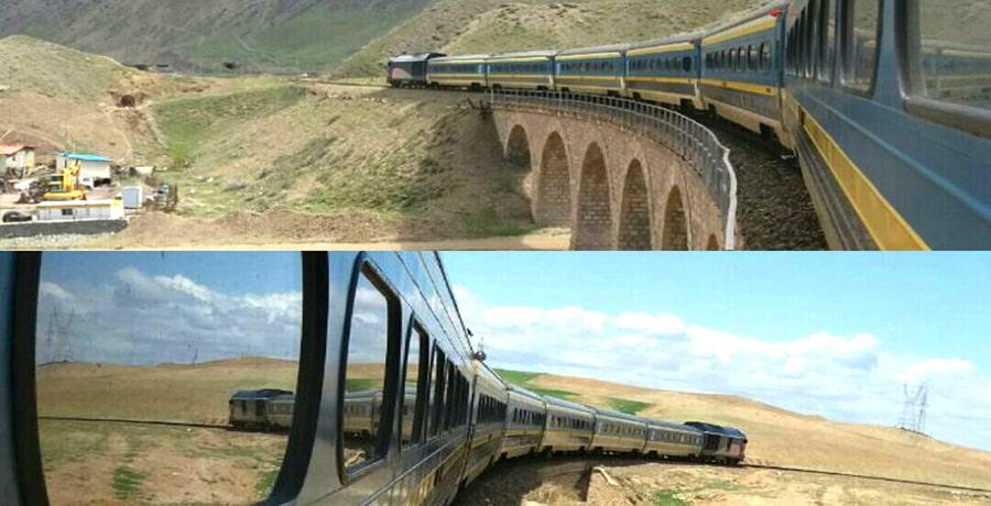 با قطار به کدام شهر ها می توان سفر کرد