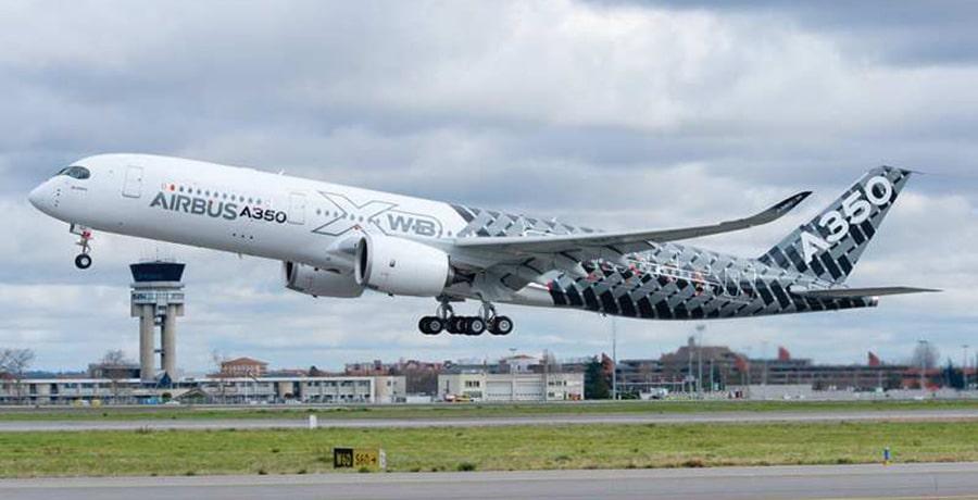 هواپیمای A350 در دسته بهترین هواپیماهای ایران