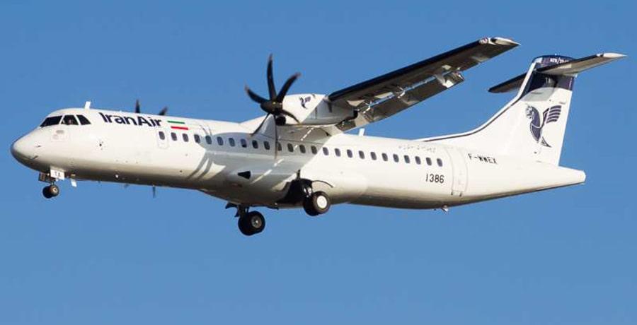هواپیمای ATR به عنوان بهترین هواپیماهای ایران