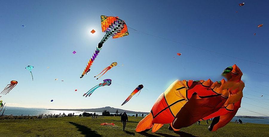 فستیوال ماتاریکی، نیوزلند و جشنواره های زمستانی دنیا