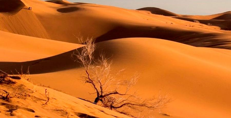 تصویری از کویر مصر به عنوان یکی از زیباترین کویر های ایران برای سفر