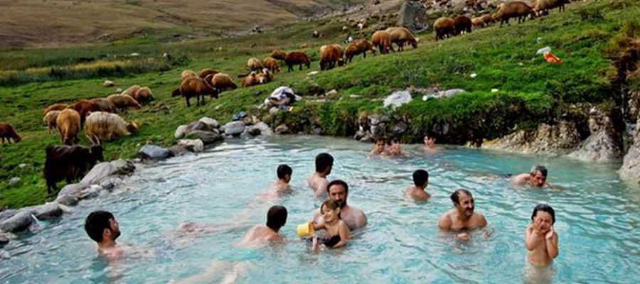چشمه آب سرد طبیعی در ایران