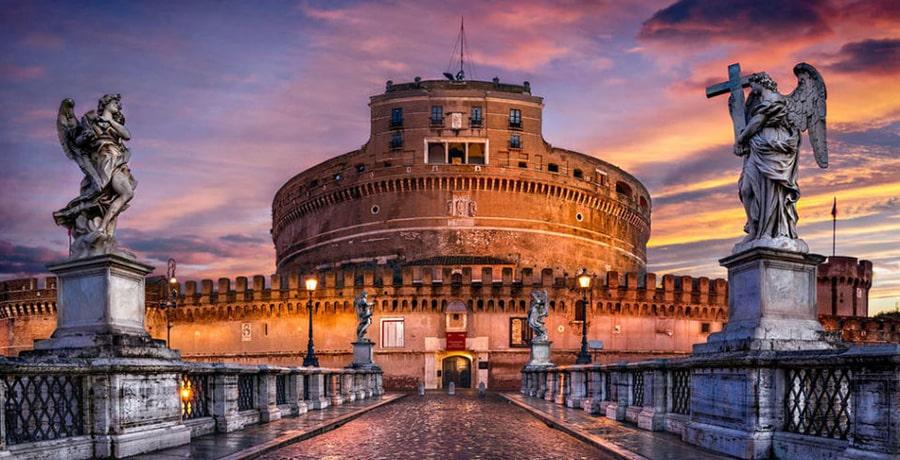 دیدار از مکان های دیدنی و جاذبه های توریستی رم