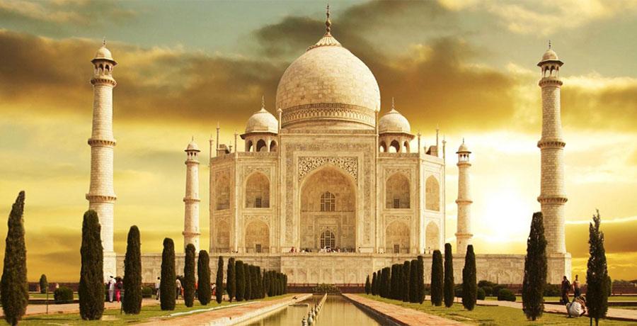 تاج محل، معروف ترین بنای هند