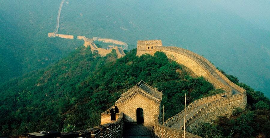 تصویری از دیوار بزرگ چین
