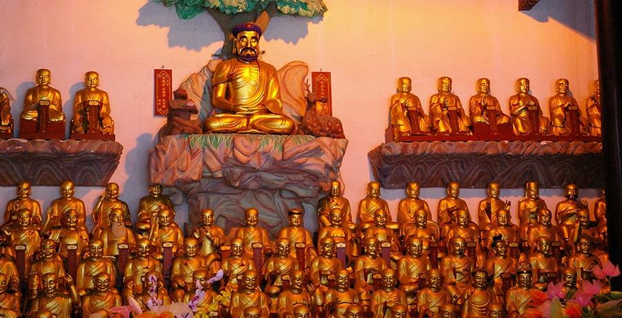 معبد لانگهوا در فهرست آثار تاریخی شانگهای