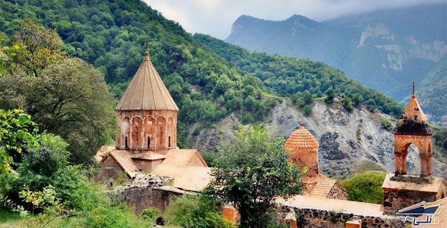 جاذبه های گردشگری و توریستی ارمنستان