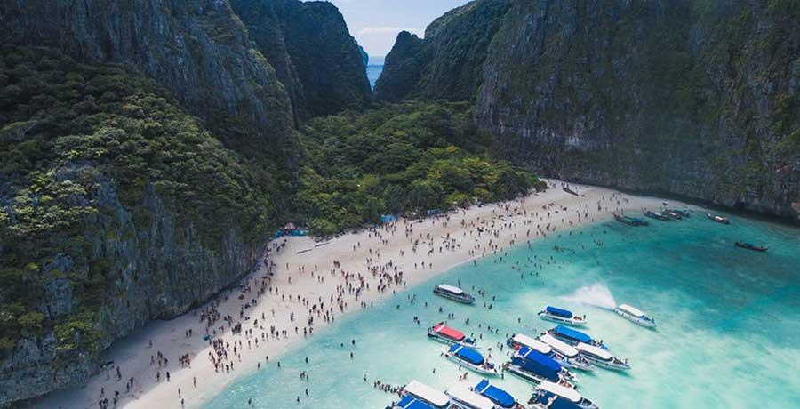 بهترین ساحل های تایلند برای شنا و قایق سواری