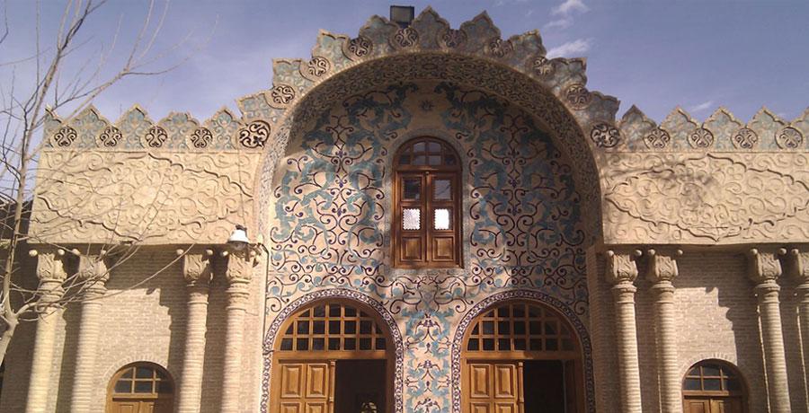 تصویری از کتابخانه ملی کرمان