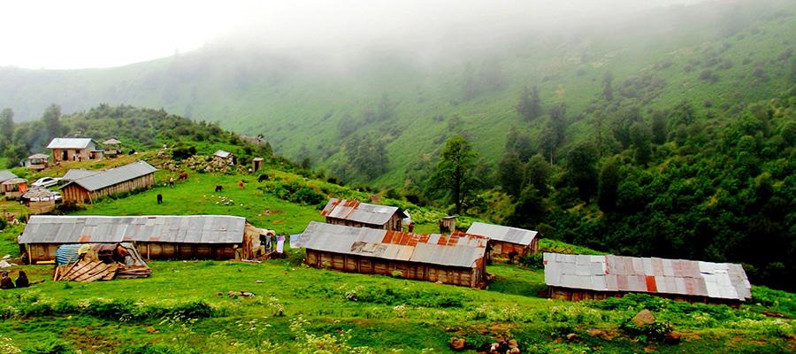 گیلان و روستاهای زیبای شمال