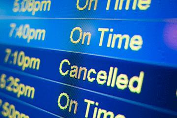 درصد جریمه استرداد بلیط هواپیما
