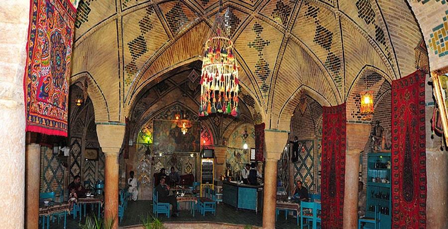 مجموعه بازار، حمام وکیل در استان کرمان