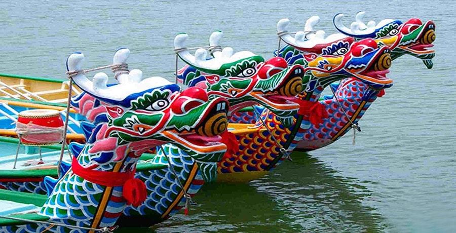 جشن قایق اژدها، سفر به افسانه ها